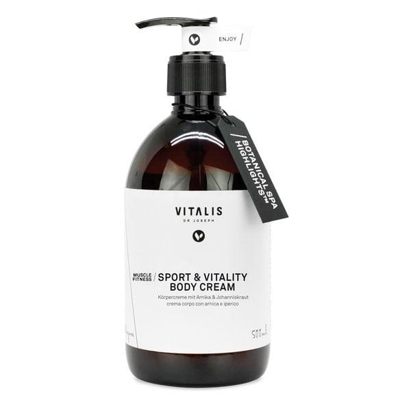 Sport e vitality body cream (arnica e iperico)