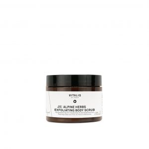 Alpine herbs exfoliating body scrub